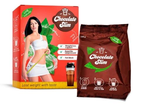 Chocolate Slim i raduj się niezwykłym smakiem ukochanej czekolady i jednocześnie spalaj tłuszcz.